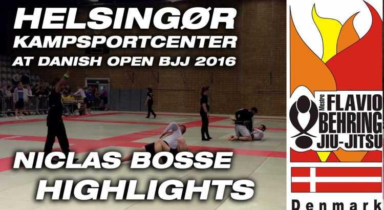 Niclas Bosse hiver 4 Guldmedaljer hjem Til Danish Open BJJ 2016 i Hillerød