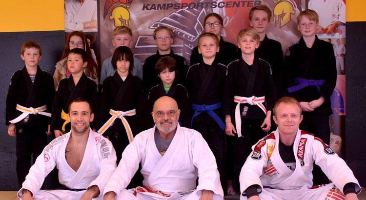 Alex Thomann, GM Flavio Behring, Brian Berggren, BJJ, Brasiliansk Jiu Jitsu