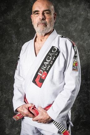 Rød belte Flavio Behring Brazilian Jiu Jitsu