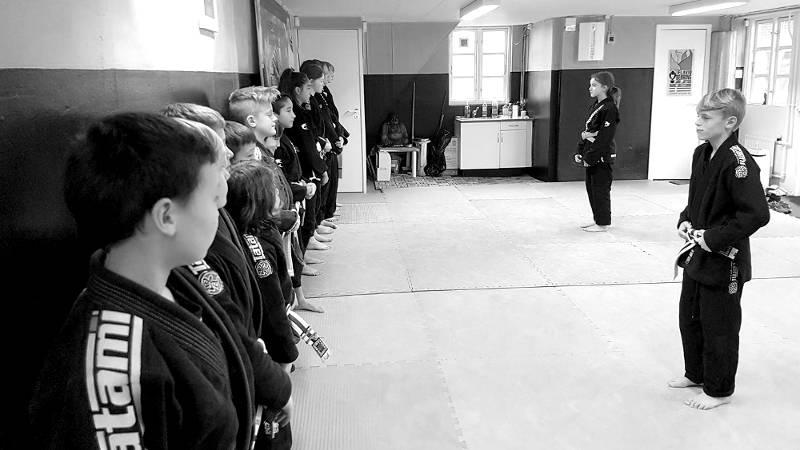 Kung Fu og Brasiliansk Jiu Jitsu for børn i Helsingør