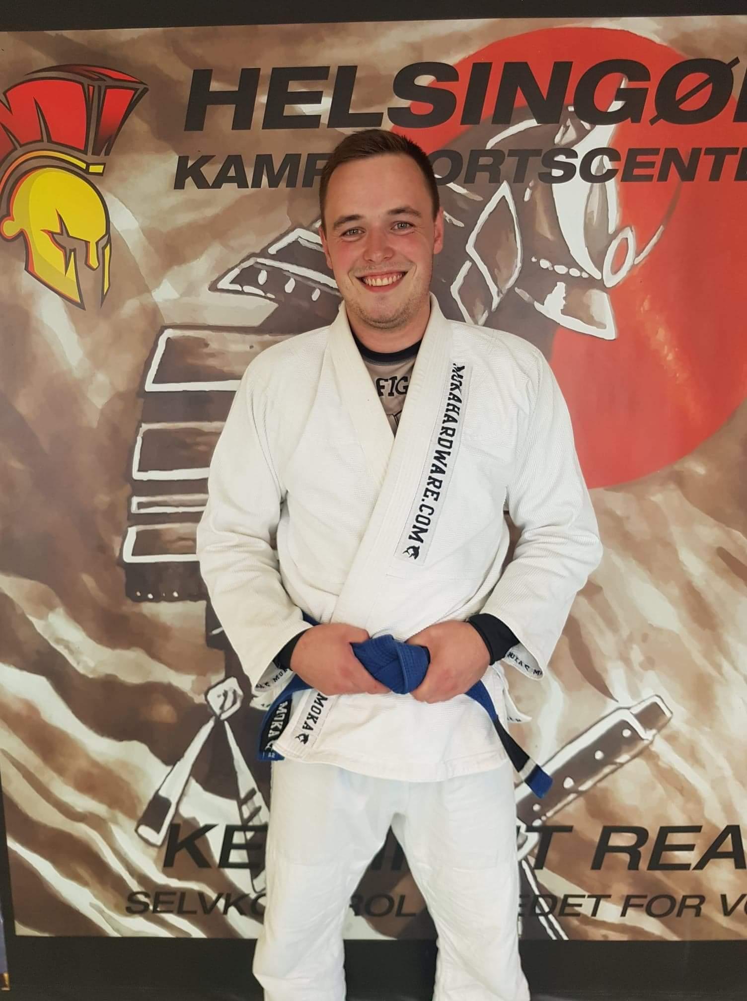 Assisten træner Jonas Holm Nielsen