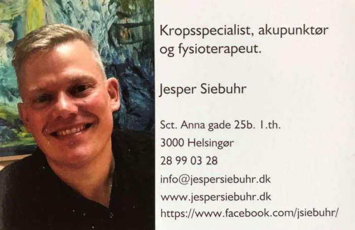 Kropsspecialist, akupunktør og fysioterapeut jesper siebuhr