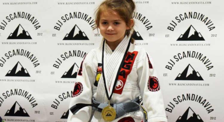Evolet Elise Boris vinder guld i norge