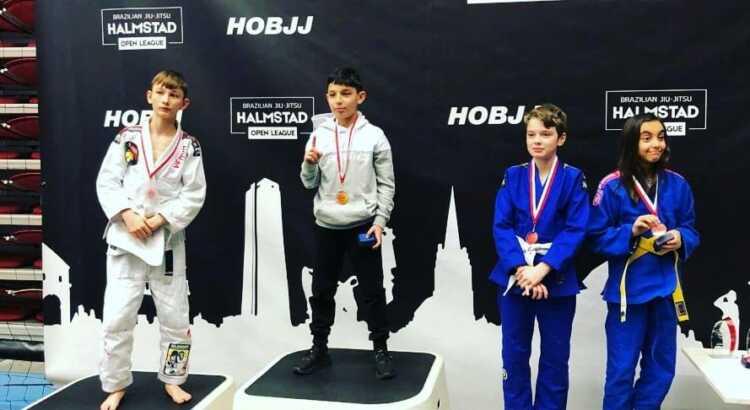 Viggo Dige fra Helsingør kampsportscenter vinder søvlmedalje til Hamlstad open 2019 (Brasiliansk Jiu Jitsu)