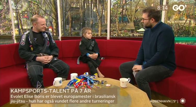 Skøn mandag Helsingør Kampsportscenter og Evolet Elise Boris besøgte Mikkel og Ida i Go'morgen Danmark og kom også senere i nyhederne