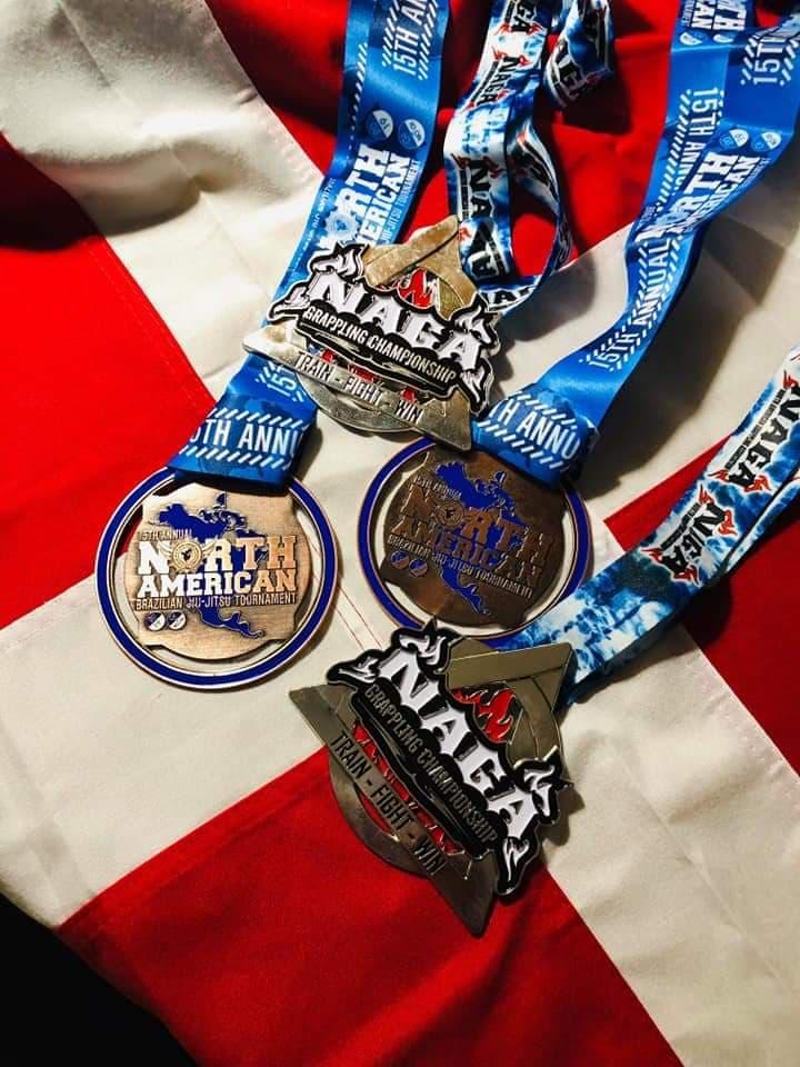 Evolet Elise Boris medaljer